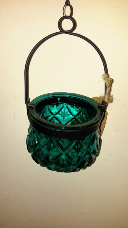 Moroccan Style Hanging Candle Lantern - Assorted colours